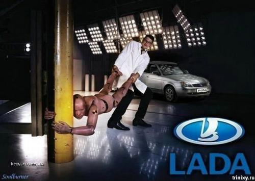 lada crashtest