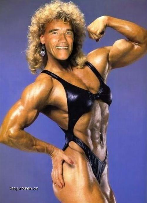 funny gender  Schwarzenegger