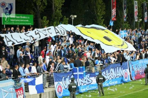 Slovan ultras Alles gute Adi