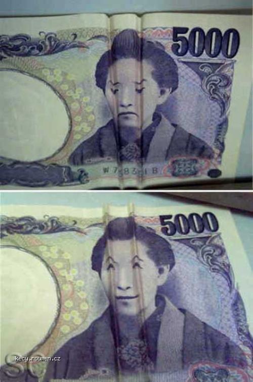 skladani bankovky