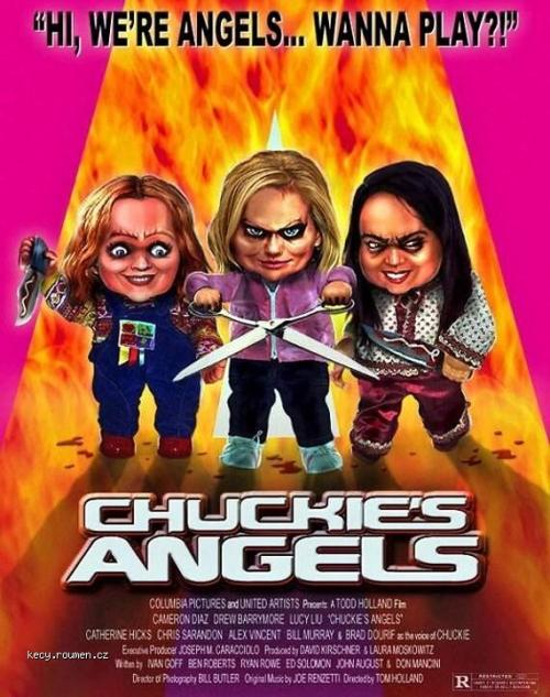 Movie poster  Chuckies Angels