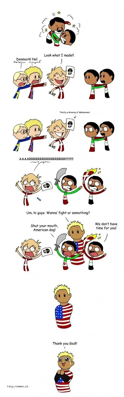 X Country Comic
