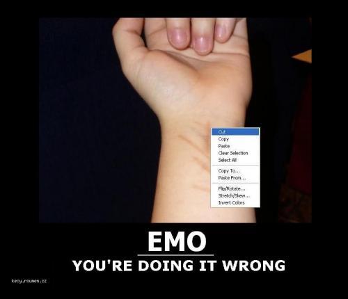 emo cut