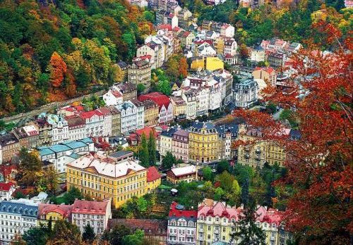 A Birdeye View of Karlovy Vary Czech Republic  wikipedia