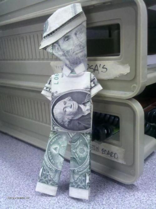 US bankovky