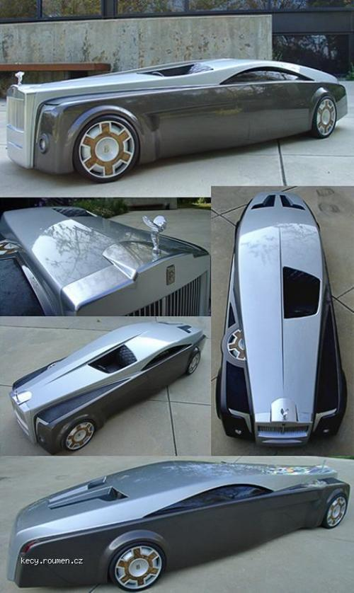 koncept Rolls Royce