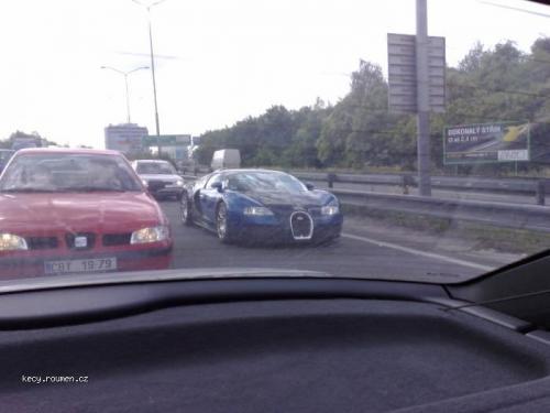 Veyron v Praze
