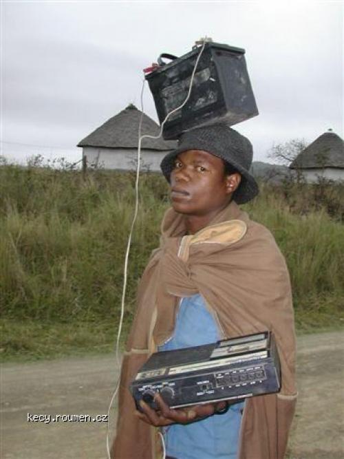 africky mp3 prehravac