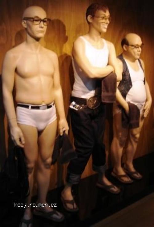 nove figuriny na obleceni