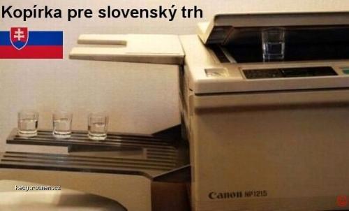 Kopirka pre slovensky trh