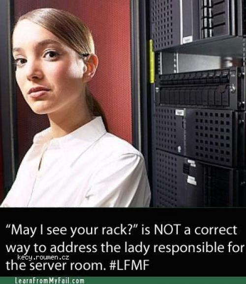 may i see your rack
