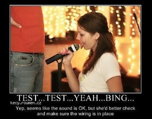 Test Test Yeah Bing