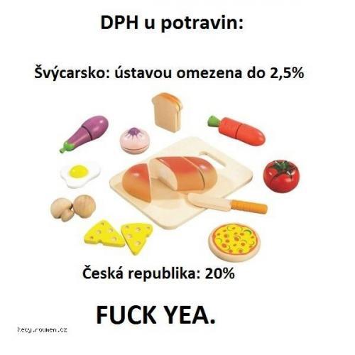 dph potraviny cr vs svyc