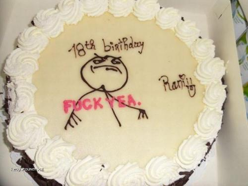 18 b day cake