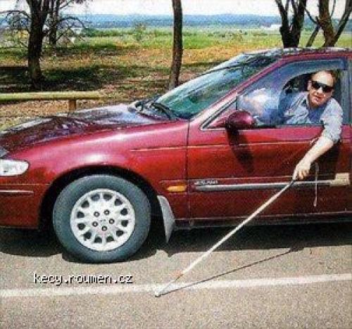 blind drunk driver