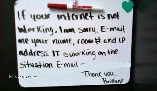 No Internet Fail