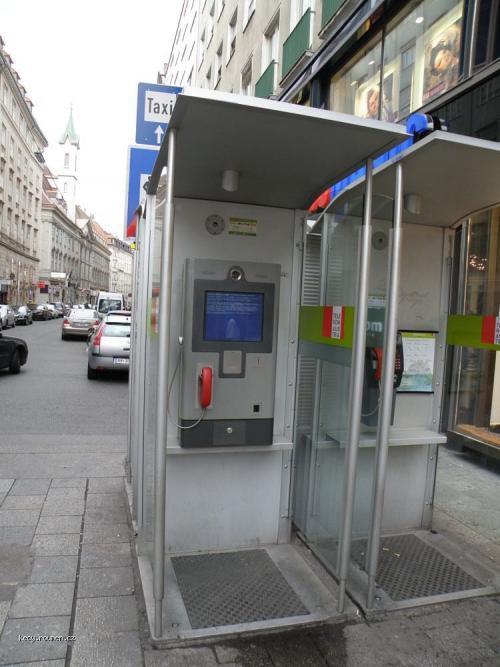 telefonni budka viden powered by windows
