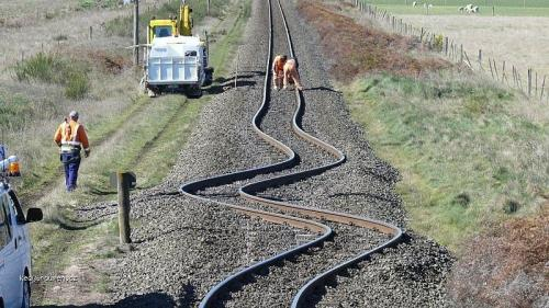 New Zeland railroad