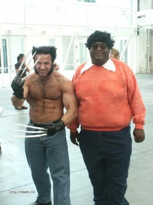 Wolverine man