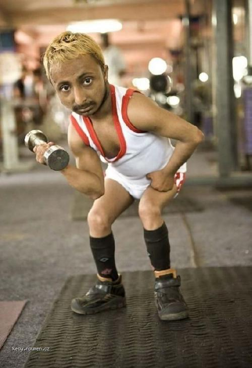 Shortest Bodybuilder in the World2