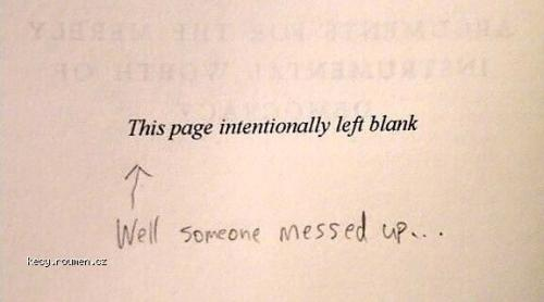 Its Not Blank