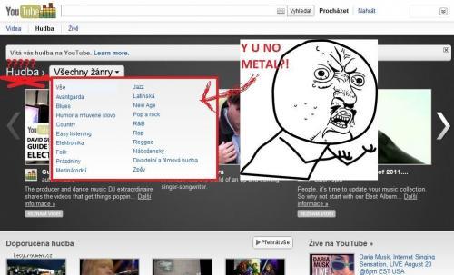 youtube novinka