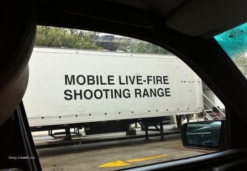 Mobile LiveFire Shooting Range