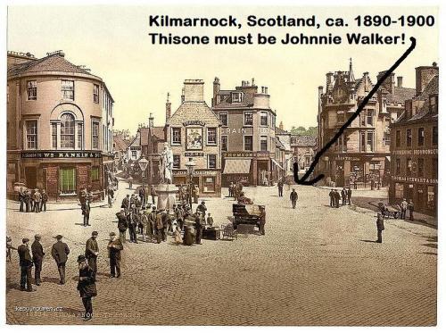 Kilmarnock cross with Johnnie Walker