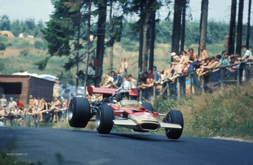 1969 Nurburgring  28Jochen Rindt Lotus 49B 29