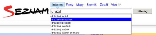 seznam search fun