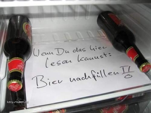 bier nachfullen