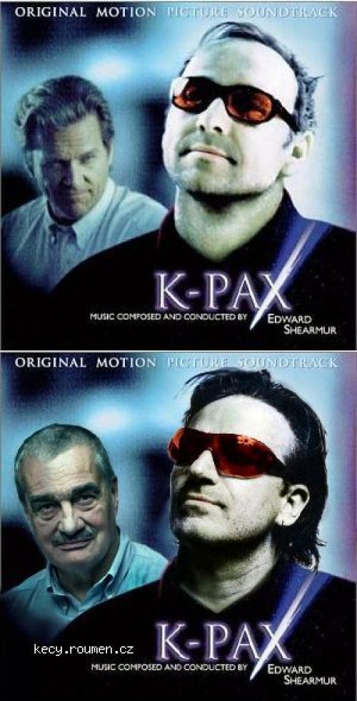 Svet podle Prota  28KPAX 29  Soundtrack Cover