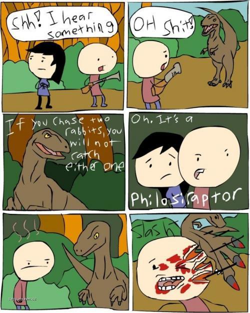Philosiraptor