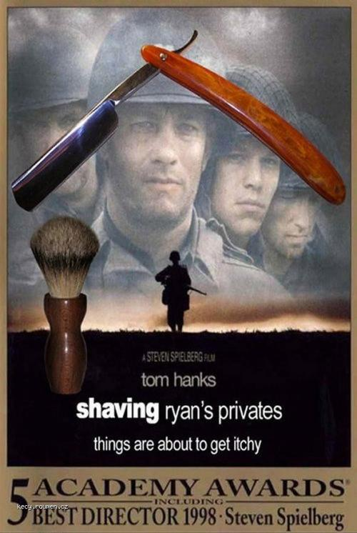 Shaving Ryan 5C 27s Privates