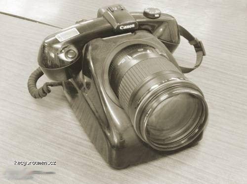 phone and camera