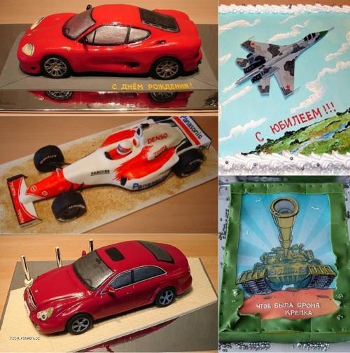 Unbelievable Transport Cakes