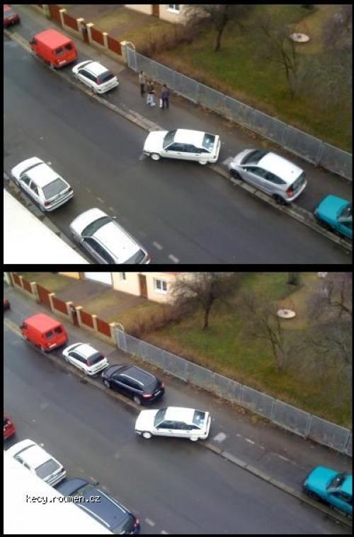 bezne parkovani ve vrsovicich