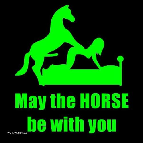 may the horse