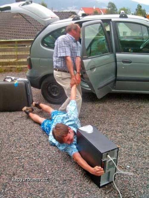 na dovolenou bez PC