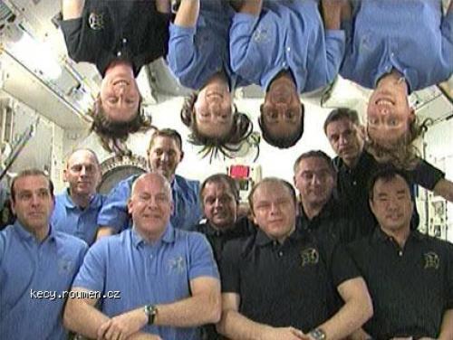 videokonference astronauti