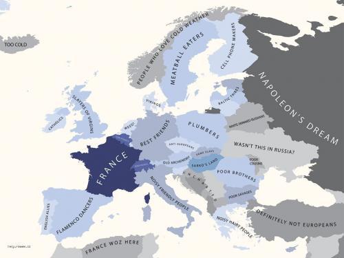 evropa podle francie