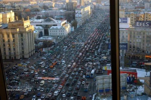 Moscow traffic jam5