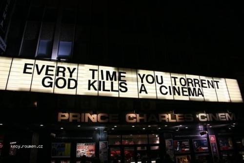 TPB killed the cinema star