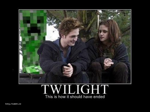 creeper twilight