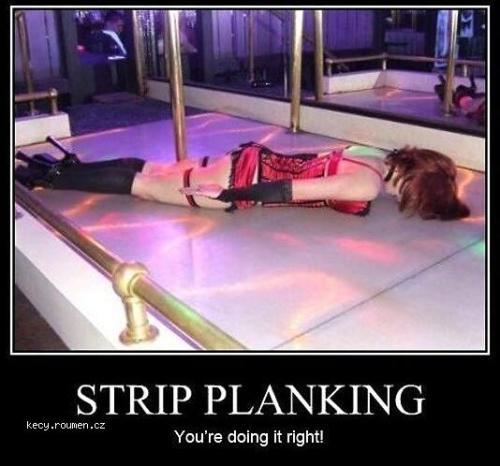 X Strip Planking