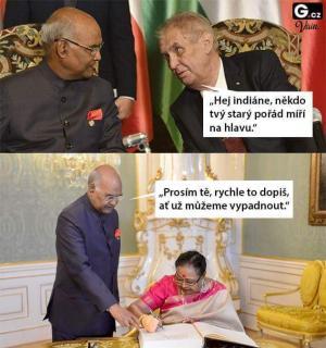 Návštěva u prezidenta