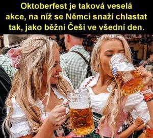 Česká definice německého Oktoberfestu