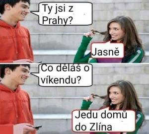 Ty jsi z Prahy?