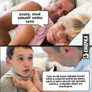 Když jde otec budit syna