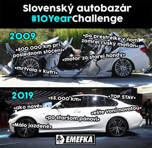 Slovenský autobazar po letech